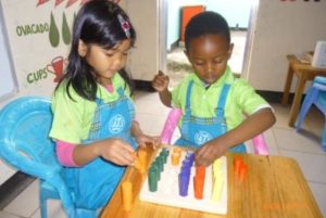 workshop children montessori ladder